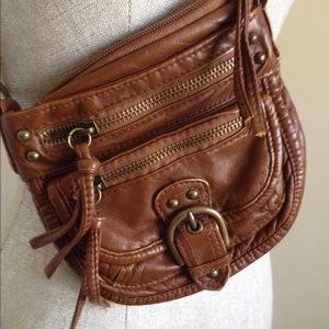 Bags - Faux Leather Cross Body Purse